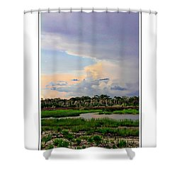 Intracoastal Colours Shower Curtain by Alice Gipson