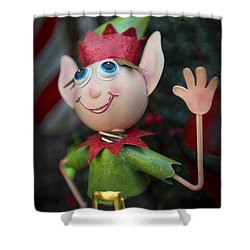 Introduce Yours-elf Shower Curtain by Evelina Kremsdorf