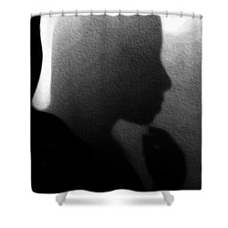 Introspection Shower Curtain by Jessica Shelton