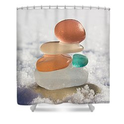 Intuition Shower Curtain by Barbara McMahon