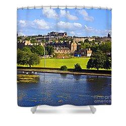 Inverleith Park Edinburgh Shower Curtain by Craig B
