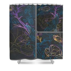 Inverted Colours Shower Curtain
