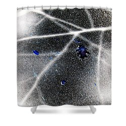 Shower Curtain featuring the photograph Inverted Shadows by Shawna Rowe