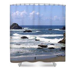 Invigorating Sea Air Shower Curtain