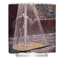 Invisible Man Shower Curtain