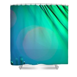 Invisible Sun Shower Curtain