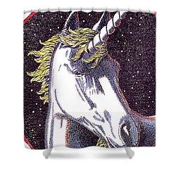 iPhone-Case-Unicorn-2 Shower Curtain