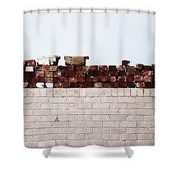 #ipromiseyouwalls Shower Curtain