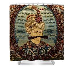 Iran King Abbas Carpet Museum Tehran Shower Curtain by Lois Ivancin Tavaf