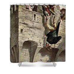 Ireland The Blarney Stone Shower Curtain by Granger