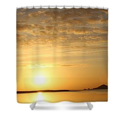 Irelands Eye At Dawn Shower Curtain