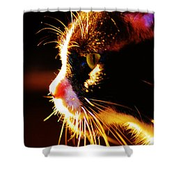 Irie Cat Shower Curtain
