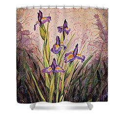 Iris Fantasy Shower Curtain