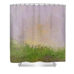 Iris Field Shower Curtain