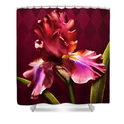 Iris I Shower Curtain