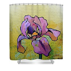 Iris I Shower Curtain by Shadia Derbyshire