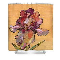 Iris II - Series II Shower Curtain by Shadia Derbyshire
