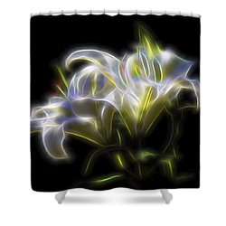 Iris Of The Eye Shower Curtain