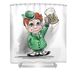 Irish Cheers Shower Curtain