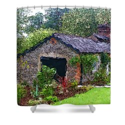 Irish Cottage Shower Curtain
