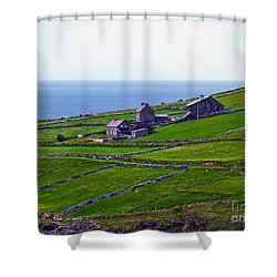 Irish Farm 1 Shower Curtain