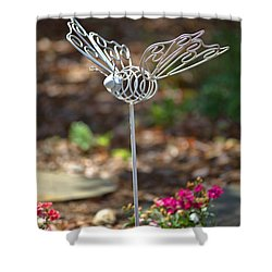 Iron Butterfly Shower Curtain by Gordon Elwell