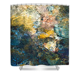 Iron Creek Bottoms Shower Curtain