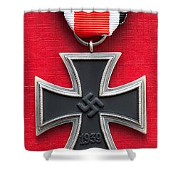 Iron Cross Medal Shower Curtain