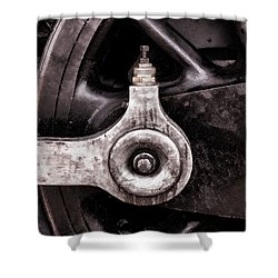 Iron Horse II Shower Curtain