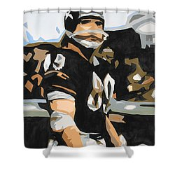 Iron Mike Ditka Shower Curtain