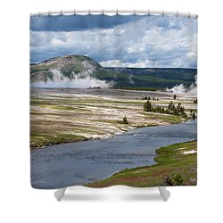 Iron Spring Creek Shower Curtain
