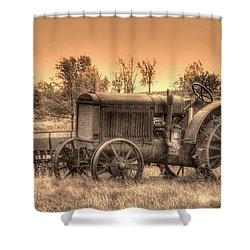 Iron Workhorse Shower Curtain