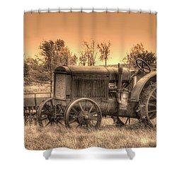 Iron Workhorse Shower Curtain by Aliceann Carlton