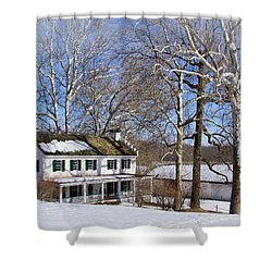Ironmasters House Shower Curtain