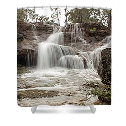 Ironstone Gully Falls 1 Shower Curtain