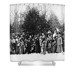 Iroquois Group C1914 Shower Curtain by Granger
