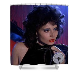 Isabella Rossellini In The Film Blue Velvet Shower Curtain