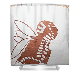 Isaiah - Tile Shower Curtain by Gloria Ssali