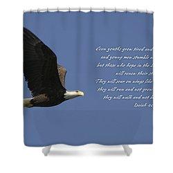 Isaiah 40 Shower Curtain