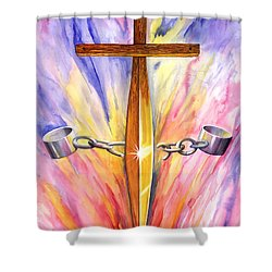 Isaiah Sixty One Verse One Shower Curtain