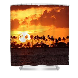 Isla De Leprosos Shower Curtain