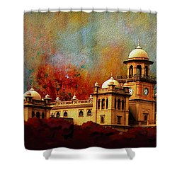 Islamia College Lahore Shower Curtain by Catf