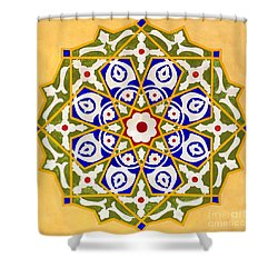Islamic Art 09 Shower Curtain by Antony McAulay