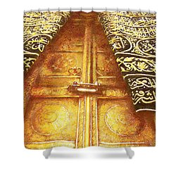 Islamic Painting 008 Shower Curtain by Catf