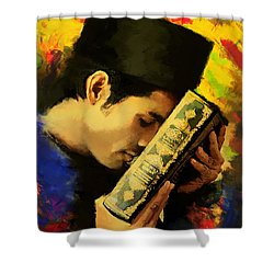 Islamic Painting 010 Shower Curtain by Catf