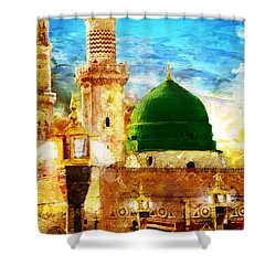 Islamic Paintings 005 Shower Curtain by Catf