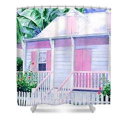 Island Charm Shower Curtain
