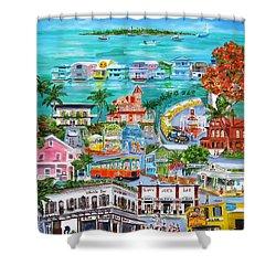 Island Daze Shower Curtain