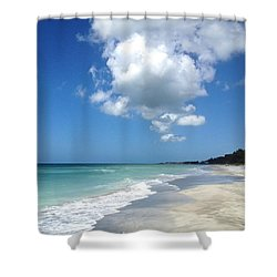 Island Escape  Shower Curtain by Margie Amberge