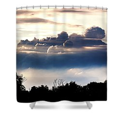 Island Of Clouds Shower Curtain